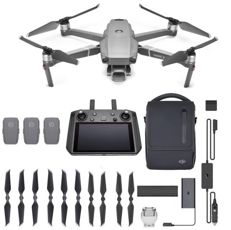 DJI Mavic 2 Pro Smart Controller Fly More Combo kit