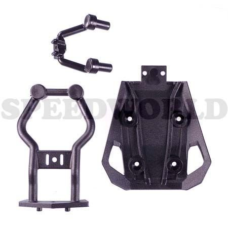 11054 - HOBAO FRONT BUMPER MOUNT FOR HYPER 10SC