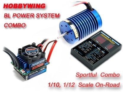 Ezrun 35A ESC+4300kv 9T Motor+Programlama Kartı