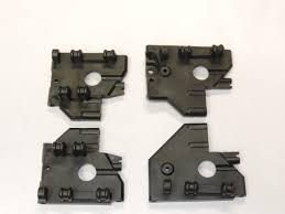 Hobao Ofna Pirate Sport M6 Front Gearbox Support Bulkheads 84019