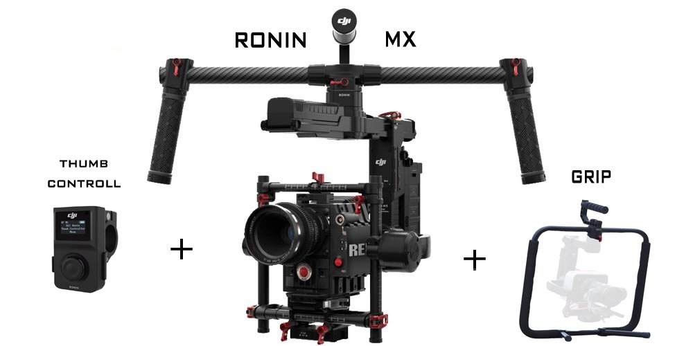 Ronin Mx + Grip + Thumb Control